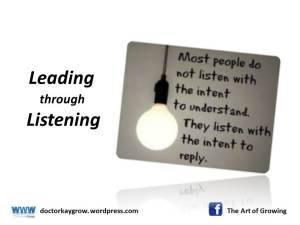 Lead through listening_7 Mar 2015