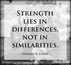 difference strength